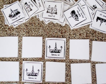 LDS Temple Memory Game, Part 2 - INSTANT DOWNLOAD