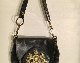 incredible vintage leather bag messenger