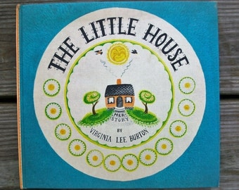 Vintage The Little House By Virginia Lee Burton Hardcover Book