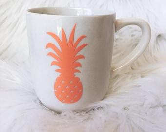 Pineapple Ceramic Mug