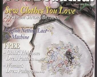 Sew Beautiful magazine, Issue no 62, 1999
