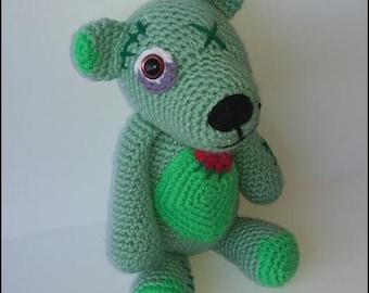 Crochet Pattern - Zombie Bear