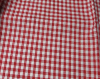 Fabric, Checkered, Red And White, Table Runner, Tablecloth, Quilt, Clothing