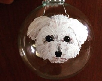 Hand painted pet ornaments