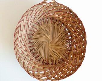 Woven Basket Wall Hanging
