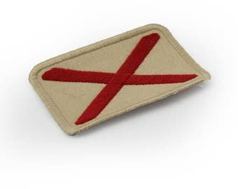 Alabama Embroidered Flag Patch