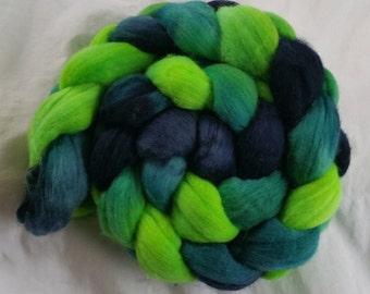 Hand Painted Merino Wool - New Green