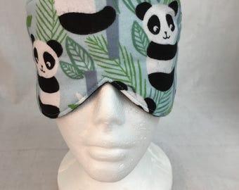 Panda Cotton Sleep Mask And Case Set, Eye Mask Set, Travel Mask set