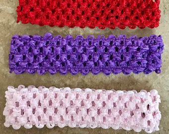 Crochet Headbands- Buy more and Save!