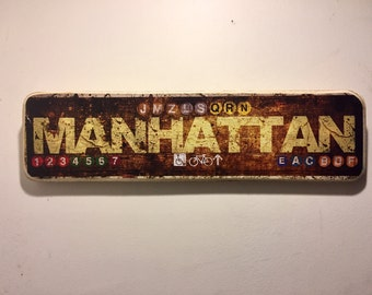 Manhattan - 4x15 in.