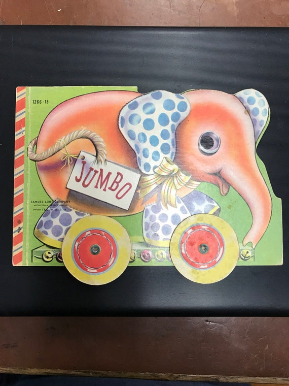 Jumbo elephant book