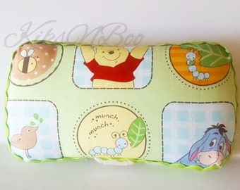 Pooh baby wipes travel case - pooh diaper wipes travel case - diaper bag  - baby shower gift - nursery