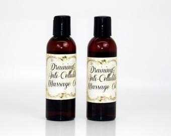 Draining&Anti-Cellulite massage oil, anti-cellulite oil, draining oil, slimming oil