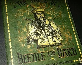 The tales of Beedle the bard - facsimile, reproduction ITALIAN VERSION
