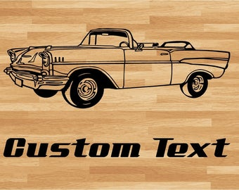 Convertible Car Muscle Car Decals, Muscle Car Sticker, Automobile Decal, Sport Car Wall Decal, Automobile Sticker, Auto Wall Design