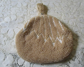 PRICE REDUCED: Vintage Faux Pearl Purse