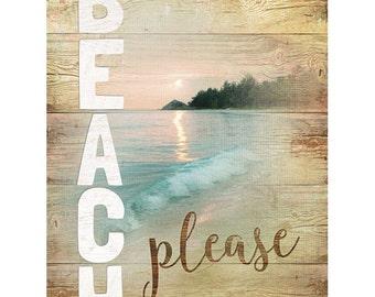 MA2270 - Beach Please - 12 x 16