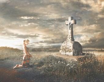 "Postcard photography art ""Lumen de Lumine"" Olga Valeska"