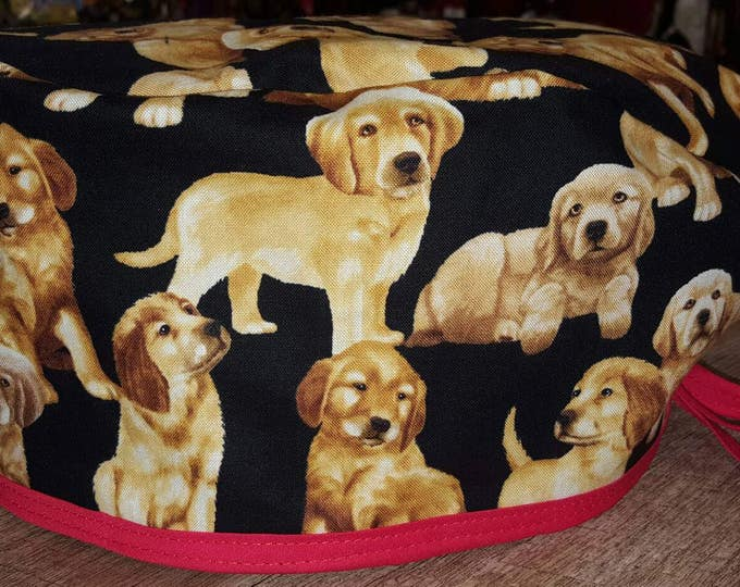 Retriever Puppies Surgical cap