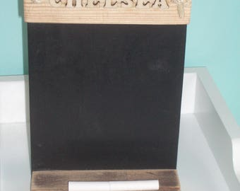 10 X HANDMADE  BLACKBOARDS
