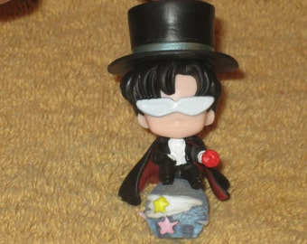 Sailormoon - Tuxedo Mask Figurine Made Into Your Choice of Options