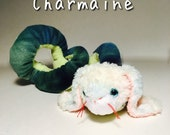 Handstitched and Re-imagined Plush Animal Mix, FrankenStuffs Charmaine