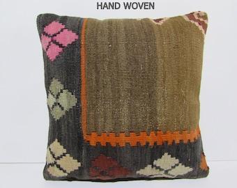 large floor cushion 18x18 decorative pillow case tribal fabric retro throw pillow hippie cushion decorative pillow - Large Decorative Pillows