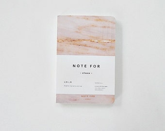 Marble Notebook, Hardcover Journal, Personal Notebook, Planner Notebook - Marble Brown