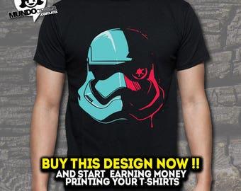 Stormtrooper starwars SVG EPS DFX