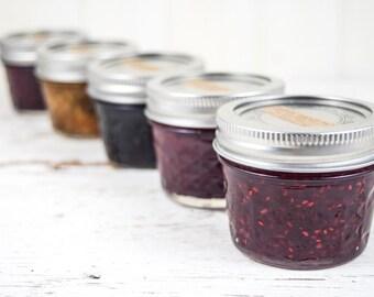 Organic Jam Sampler 2 Pack Gift Set Your Choice