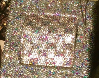 Yves St. Laurent sixties op art glitter finish sixties belt.