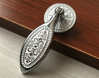 furniture drawer pulls and knobs. shabby chic tear drop dresser drawer pulls knobs handles silver white kitchen cabinet handle furniture and e