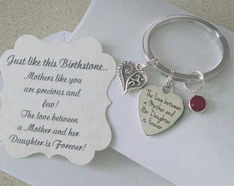 Rehearsal Dinner Gift, Mother Of Groom, Mother Of The Bride Gift,  Mother Of Bride Groom, Key Chain, Charm is big as a Nickle