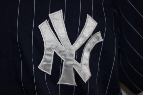 c12e946f787 on sale Vintage New York Yankees STARTER MLB Jersey by SouthsideThrowbacks