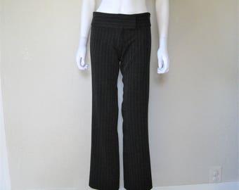 pinstripe 90s pants