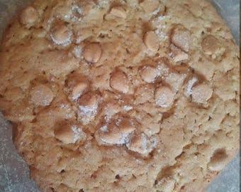 Jumbo Peanut Butter Cookies 1 dozen fresh baked