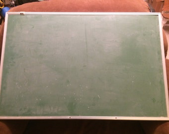 Green Chalkboard *FREE SHIPPING* Aluminum Frame Chalk Board