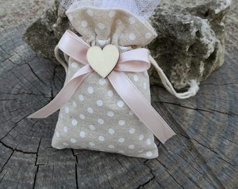 Country nature bags-polka dots