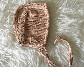 Cotton Baby Bonnet