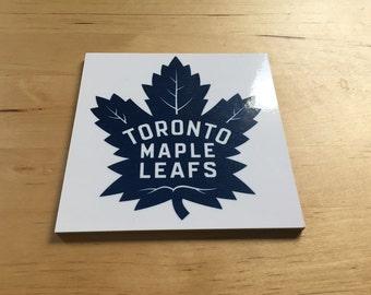 Toronto Maple Leafs Coasters, set of 4