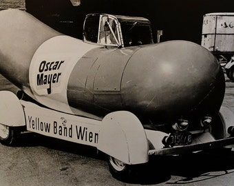 Wienermobile, Oscar Mayer, 1936