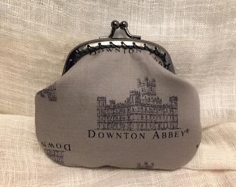 Downton Abbey in Grey Coin Purse