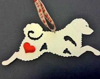 UniQ Wetterhoun ornament heart !