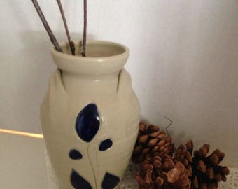 Williamsburg Salt Glazed Stoneware Jug Vase