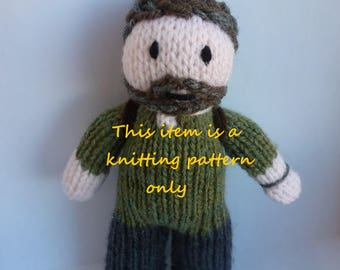 PDF knitting pattern: Joel (The Last Of Us)