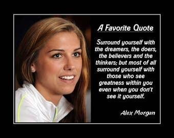 Inspiring soccer quotes alex morgan