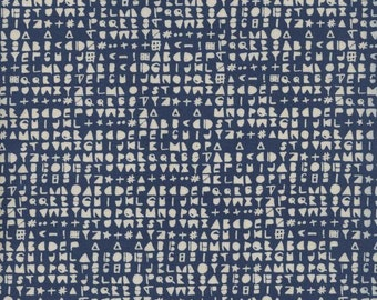 Cipher in Sea- Flower Shop by Alexia Abegg for Cotton + Steel