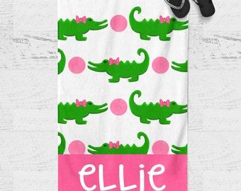 Personalized Beach Towel - Kids Beach Towel - Personalized Towel - Personalized Gift - Monogrammed