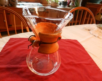 "Coffee Carafe - 8 1/2"" tall - Danish Modern"