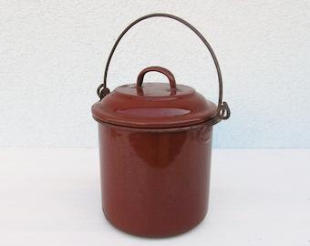 Bathroom Jug vintage slop bucket | etsy